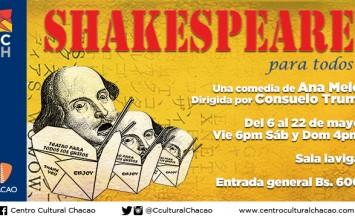 """Shakespeare para todos"" llegó al Centro Cultural Chacao"