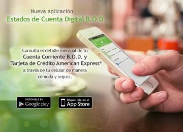 BOD permite a clientes consultar estados de cuenta desde sus celulares