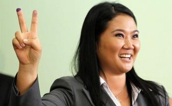 Keiko Fujimori obtiene victoria holgada en primera vuelta de presidenciales peruanas