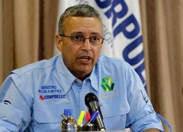 Motta Domínguez denunció ataques al Sistema Elécrico Nacional
