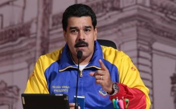 """Maduro llamó """"basura"""" a presidente de la OEA Luis Almagro, y le dice """"espertento"""" a Macri"""