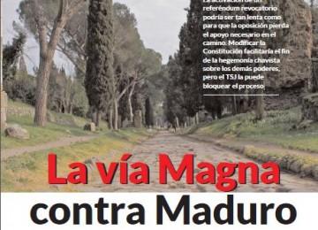 La vía Magna contra Maduro
