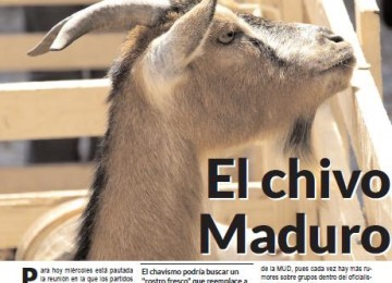 El chivo Maduro