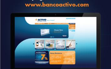 Banco Activo presenta la nueva versión de su página web
