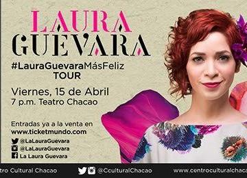 Laura Guevara lanza nuevo disco en el Centro Cultural Chacao