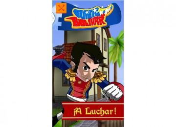 """Crean videojuego """"Súper Bolívar"""" para descargar en Google Play Store"""