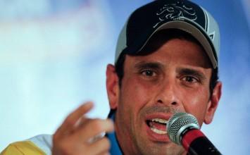 """Capriles asegura que Venezuela """"no quiere fusiles, quiere comida y medicinas"""""""