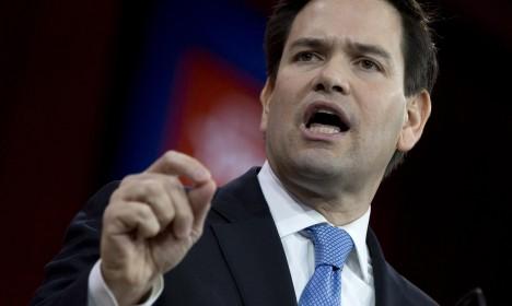 Marco Rubio propuso a Gobierno de EE.UU. sancionar a siete funcionarios venezolanos más