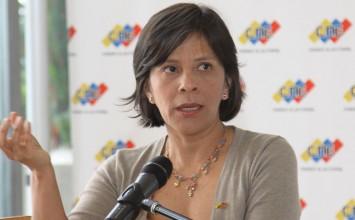 Sandra Oblitas ante la ONU: Poder Electoral venezolano es transparente y eficiente