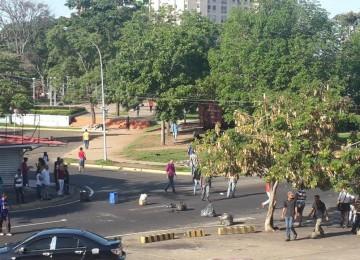 Protestan por comida en Ciudad Guayana
