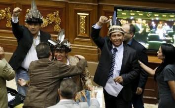 Diputados de Amazonas se reincorporan a la Asamblea Nacional