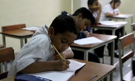 """""""86% de niños mirandinos quiere ir a escuelas en vacaciones para comer"""""""