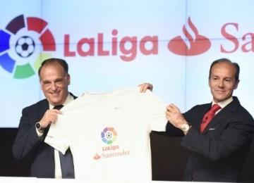 LaLiga y Banco Santander llegan a acuerdo de patrocinio