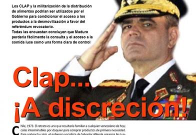 Clap… ¡A discreción!