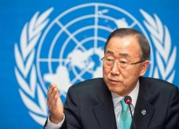 Ban Ki-moon llega a Cartagena para firma del acuerdo de paz en Colombia
