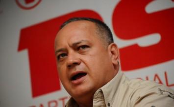 Cabello anuncia contramarcha oficialista para el 12 de octubre
