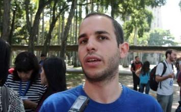 Guerrilla chavista amenaza al dirigente estudiantil Hasler Iglesias