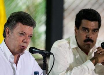Maduro conversará con Santos sobre tráfico del papel moneda