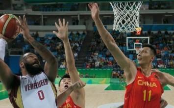 Venezuela derrota en baloncesto a China en los Juegos Olímpicos Río 2016