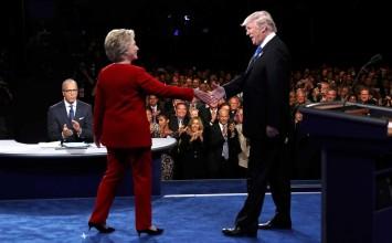 Analistas coinciden en que Clinton tuvo mejor desempeño en primer debate