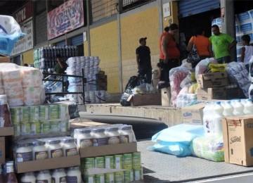 Militares inspeccionan Mercado Mayoritsta de Barquismeto