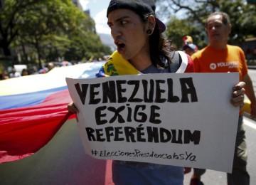 MUD llama a protestar para que revocatorio se active solo por 20% nacional