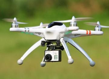 Sin aeronaves en el aire (¡Cuidado con el dron!)