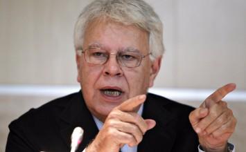"""Felipe González: """"Situación en Venezuela es una tiranía arbitraria"""""""
