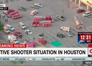 Siete personas resultaron heridas por tiroteo en Houston