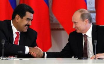 Putin expresó apoyo a Maduro en medio de protestas opositoras