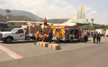 Venezuela envió 20 toneladas de ayuda humanitaria a Haití