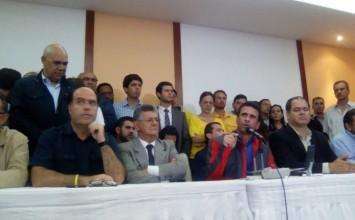 MUD convocó a una manifestación a escala nacional el 26 de octubre