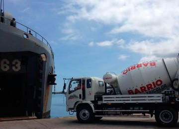 Venezuela envió cargamento de materiales de construcción a Cuba