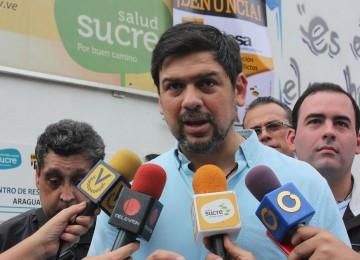 Ocariz confirmó que el gobierno aceptó recibir ayuda humanitaria