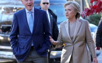 Hillary Clinton ejerció su derecho al voto