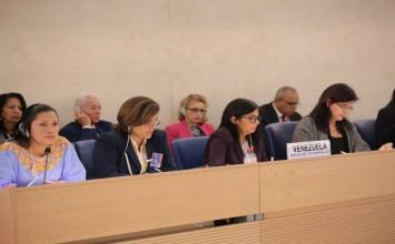 Luisana Melo en la ONU: En Venezuela aumentó el número de centros de salud