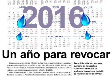 2016: Un año para revocar