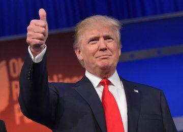 Trump se dirige a Washington para su toma de posesión