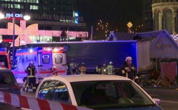 Camión arrolló a multitud en Berlín y causó 9 muertes