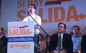 Voluntad Popular propuso convocar referéndum y adelantar elecciones