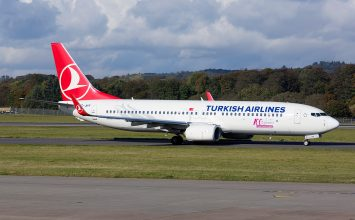 Turkish Airlines realizará vuelo inaugural a Venezuela este martes