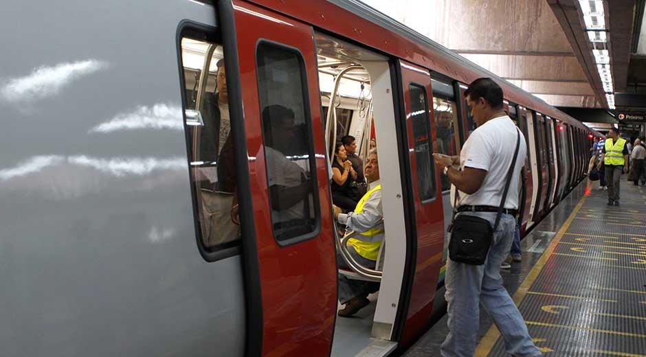 Ministro confirma la normalidad en el sistema Metro de Caracas