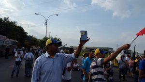 Protesta Turmero 1