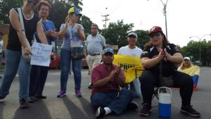 Protesta Turmero 3