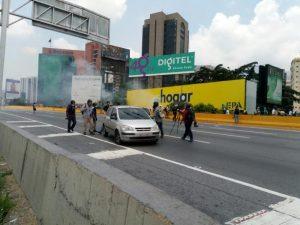 Protestas Autopista 1