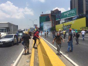 Protestas Autopista 3