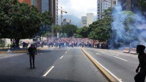 Protestas Autopista 4