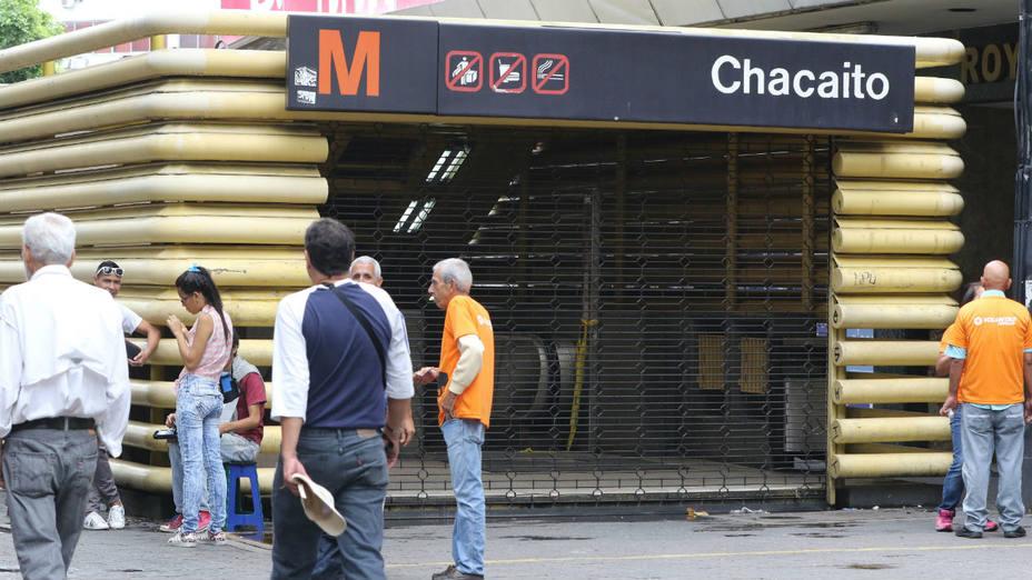 Cerrada estación Chacaíto del Metro de Caracas por cuatro detonaciones