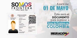 Venezolanos que transitan por zona de frontera deberán tramitar ya tarjeta de movilidad fronteriza