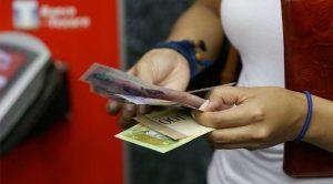 Taquillas bancarias - dinero en efectivo